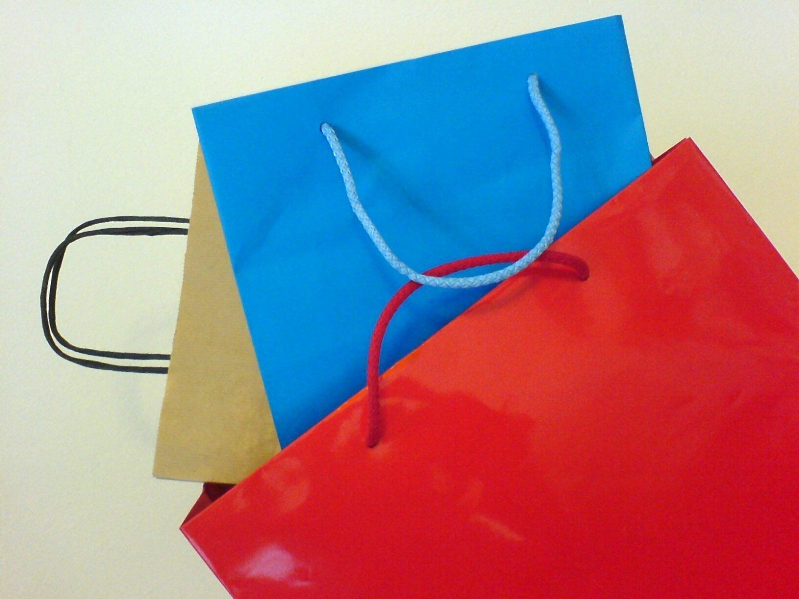 Adhesives for paper bags
