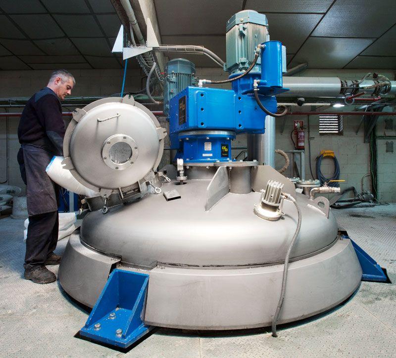 Adhesive manufacturing machinery
