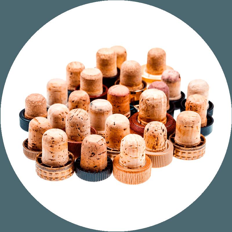 pagamento para ensamblaje de tapones